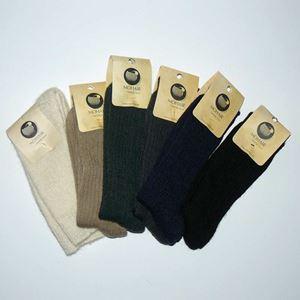 Mohair Vandre sokker med frotté såler - Str. 45-48