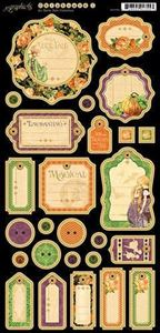 Journaling Chipboard - An Eerie Tale fra Graphic 45