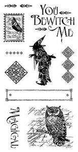 Cling Stamp 2 - An Eerie Tale fra Graphic 45