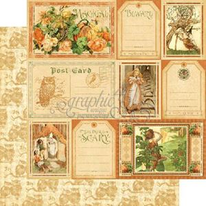 "Fanciful Fable - An Eerie Tale - 12"" Designpapir fra Graphic 45"