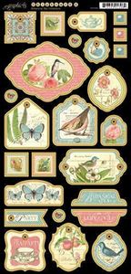 Chipboard 2 - Botanical Tea fra Graphic 45