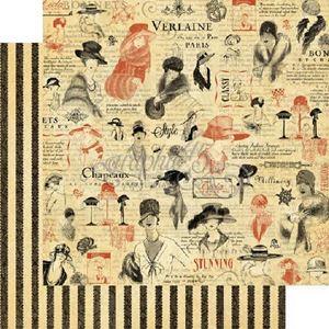 "Accessorize - Couture 12"" Designpapir fra Graphic 45"