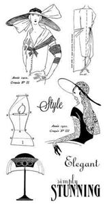 Cling Stamp 2 - Couture fra Graphic 45