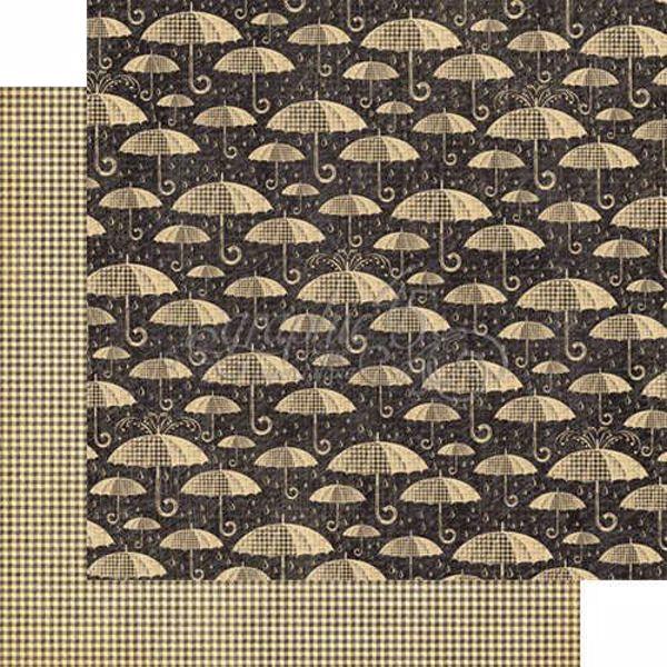 "Pitter-patter - Raining Cats & Dogs 12"" Designpapir fra Graphic 45"