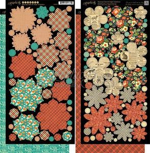 Blomster - Raining Cats & Dogs fra Graphic 45