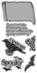 Cling Stamp 3 - Steampunk Spells fra Graphic 45
