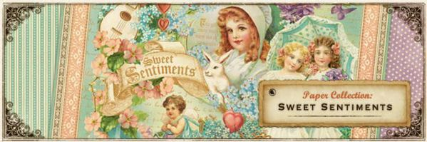 """Designpapir sæt - Sweet Sentiment - 12"""" Designpapir fra Graphic 45"""