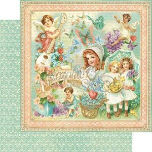 "Sweet Sentiments - Sweet Sentiment 12"" Designpapir fra Graphic 45"