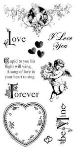 Cling Stamp 2 - Sweet Sentiment fra Graphic 45