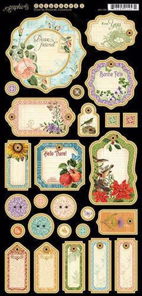 Journaling Chipboard - Time to Flourish fra Graphic 45