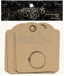 Graphic 45 - Tag Album 6,5 x 9 cm - Kraft