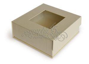 Graphic 45 - LågBox 12,7x12,7 cm - Elfenben