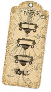 Antikke ornamentale Label-holdere fra Graphic 45