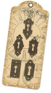 Antikke Nøglehuller fra Graphic 45
