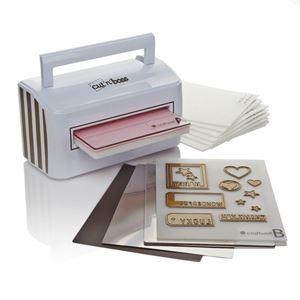 Cut n Boss elektrisk præge/skæremaskine fra Craftwell - Terese Collins