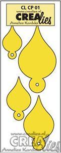 Swing taps - Creative Petals - Dies Standsejern fra CreaLies -  Cl CP 01