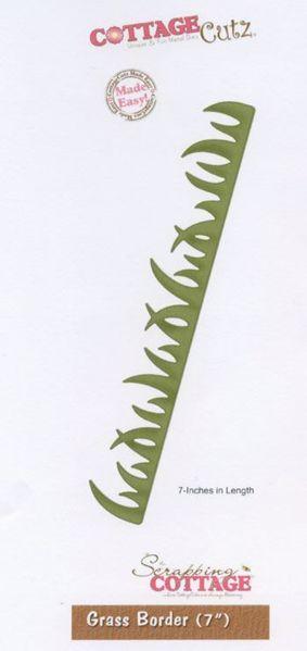 Græs kanter - Grass border - Die Standsejern fra Cottage Cutz - CC-BR07-001