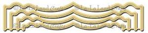 Smarte beslag - Fancy Bracket - Dies Standsejern fra La-La Land Crafts - 8029