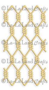 Hønsenet - Diamond Wire - Die Standsejern fra La-La Land Crafts - 8070