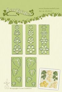 Blade og blomster - Small flowers & Leaves - Dies Standsejern fra Leane Creatief - 45.0331