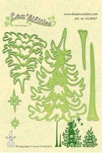 Nåle træer - Pine tree - Dies Standsejern fra Leane Creatief - 45.8947