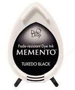 Tsukineko Memento Dew Drop - Tuxedo Black - 900
