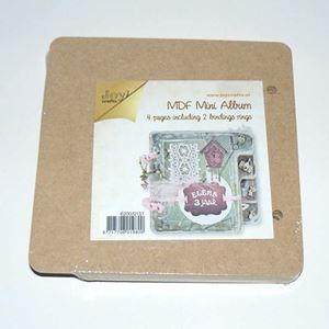 MDF Mini Album med 5 sider og 2 bogringe 6200/0151 fra JoyCraft
