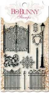 Låger og lygte stempel - Gateway Stamps - 10105427