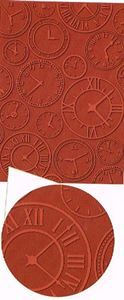About Time EmbosAbout Time Embossing Folder A4 sing Folder A4 fra Craftwell