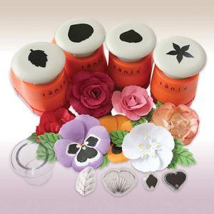 Floral Punch & Stempel sæt - 701E fra Tonic Studios