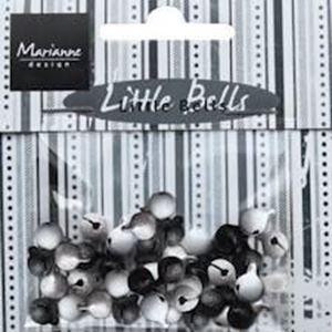 Små klokker - Bells Black/White - JU0941