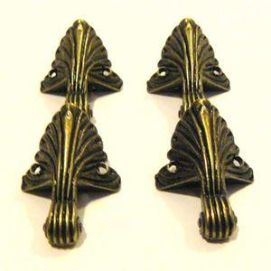 Store Fødder - Antik bronze