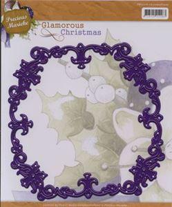Jule ramme - Glamorous Christmas - Die Standsejern fra Precious Marieke - PM10016