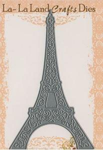 Eifeltårnet - Die Standsejern fra La-La Land Crafts - 8001
