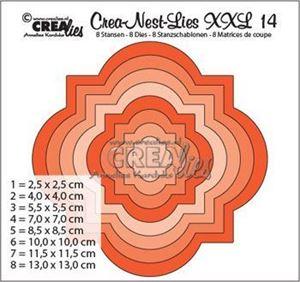 Crea Nest Lies Dies Standsejern XXL no. 14