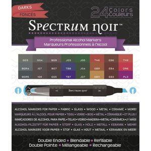 Spectrum Noir - Darks 24'er sæt
