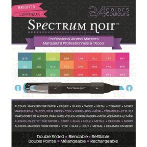 Spectrum Noir - Brights 24'er sæt