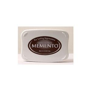 Tsukineko Memento Dye Ink - Rich Cocoa - ME-800