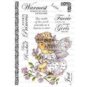 Faerie Poppets - Baby Rosebud