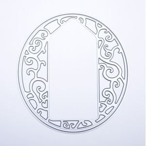 Elegant Vine Oval - Tag Die Standsejern fra Tonic Studios -  385E