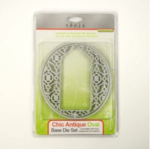 Chic Antique Oval - Tag Die Standsejern fra Tonic Studios - 383E