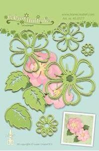 Blomster og blade - LeCrea Multi dies standsejern fra Leane Creatief - 45.0577