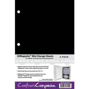 Magnetplader EZBinder Mini til opbevaring af dies Standsejern og stempler fra Crafters Companion - SS30-3