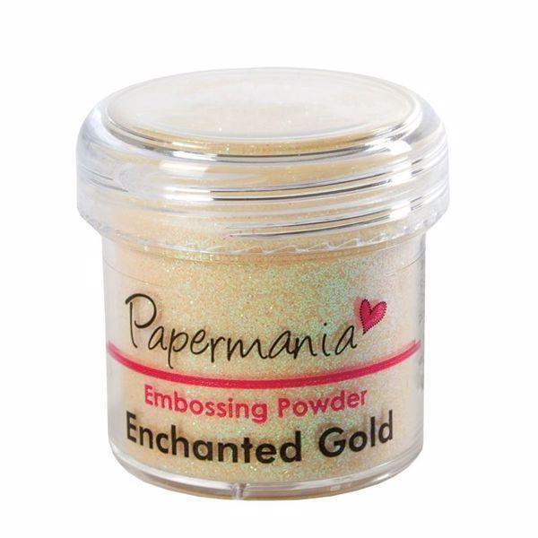 Billede af Embossingpulver - Enchanted Guld - PMA 4021004