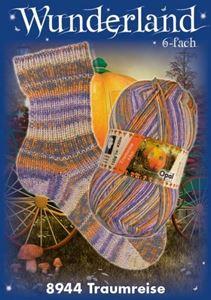 Opal Wunderland  6-fach - 8944