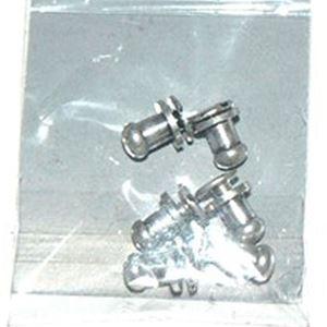 Skuffe knopper - Antik sølv