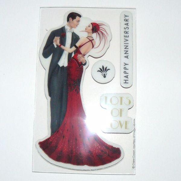 Billede af Charlston Stempel - Art Deco PMA907149