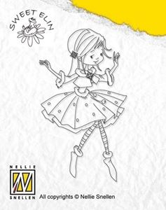 Sweet Elin stempel - Ballerina - SWE007