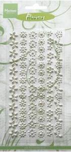 Blomsterperler - Hvide