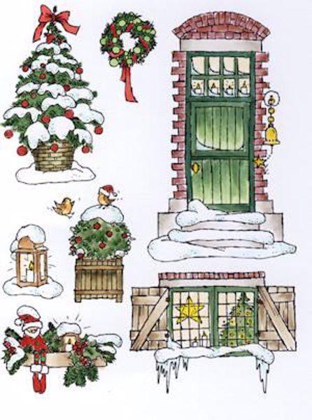 Billede af Don & Daisy jul stempler - DDS3344